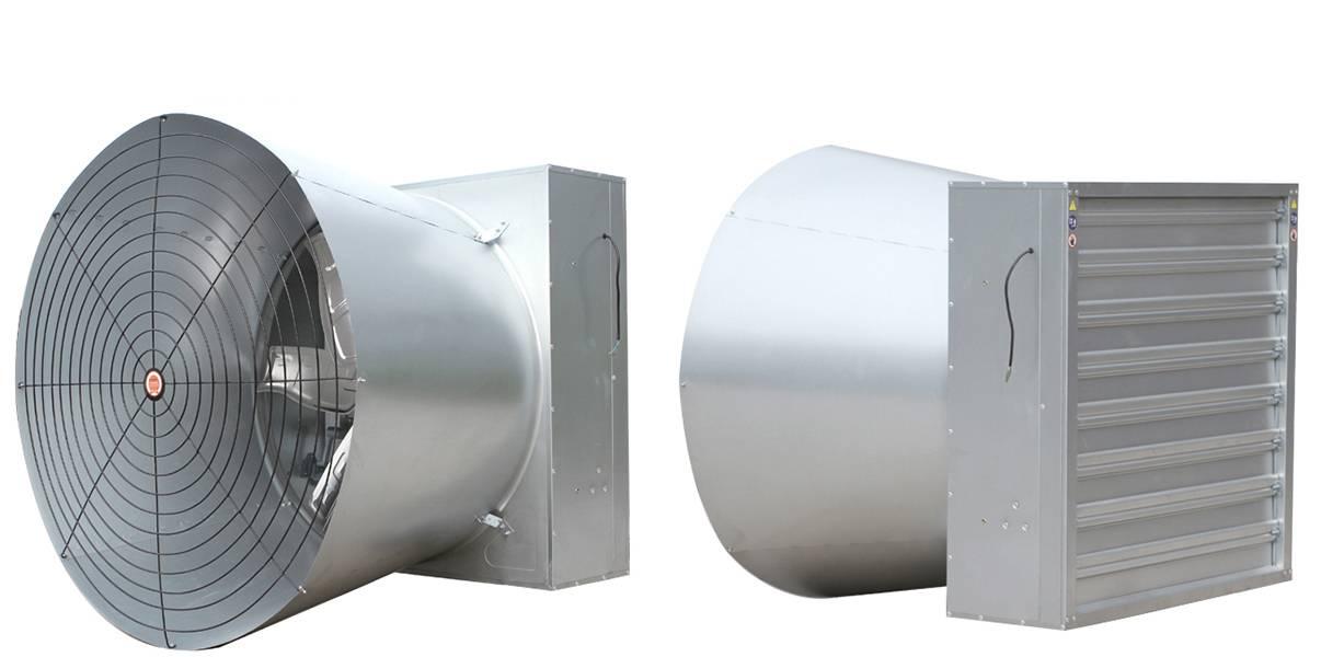 """1380/50"""" cone fan with shutter"""