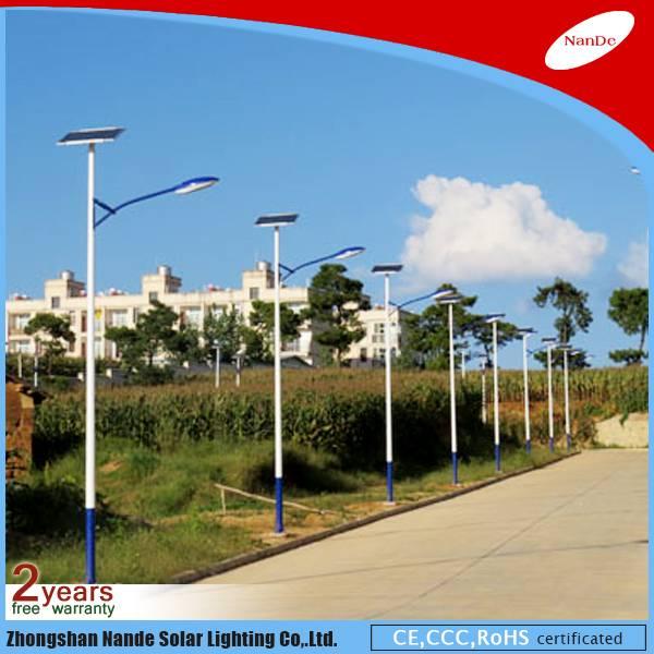 2016 Nande factory solar street LED light