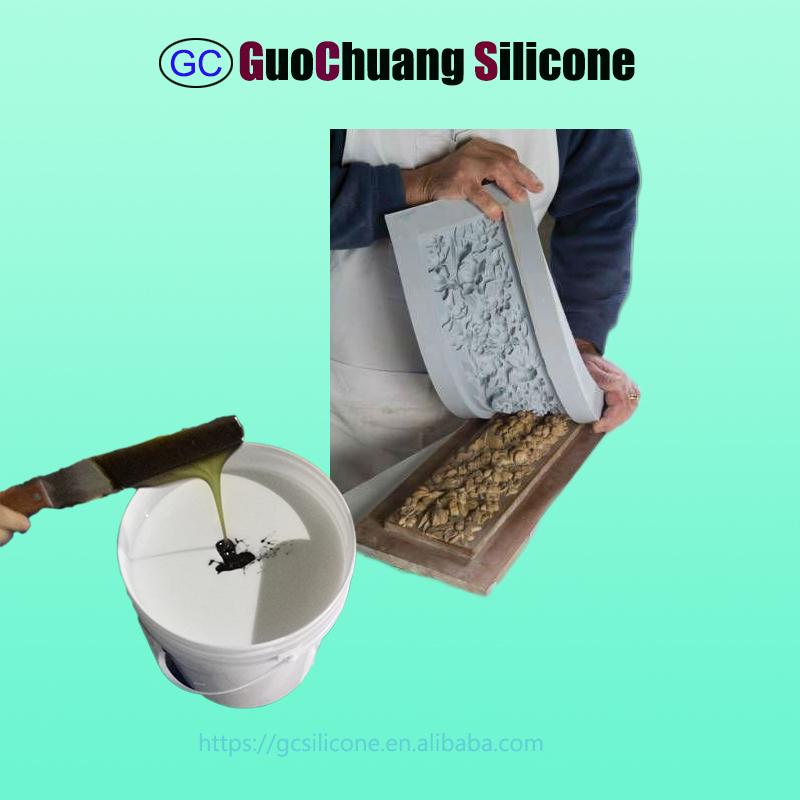 cheap rtv2 liquid silicone rubber for gypsum cornice molds