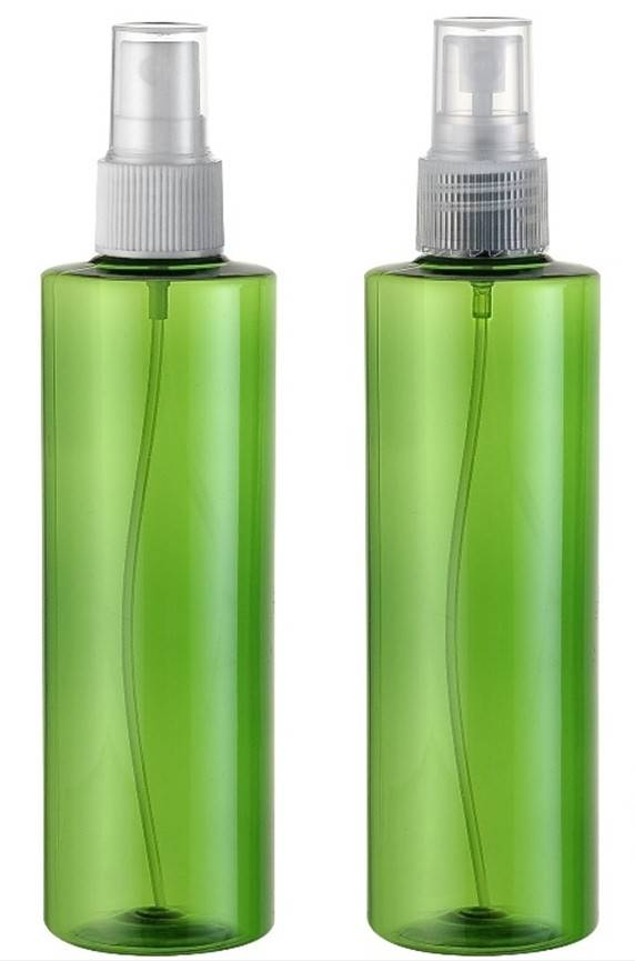 PET spray bottle for cosmetic packaging