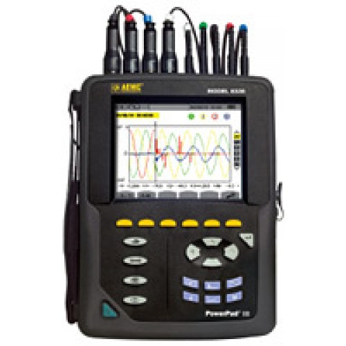 AEMC PowerPad III Model 8336 Power Quality Analyzers