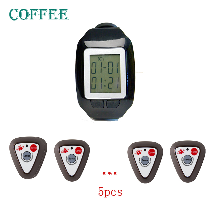 restaurant pager,wireless calling pager,wrist watch be able vibrate and didi voice