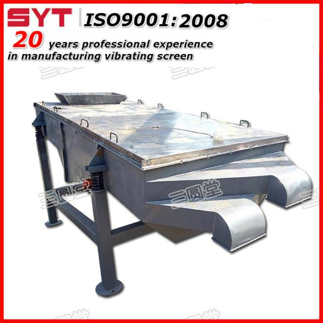linear vibrating sieve for silica sand