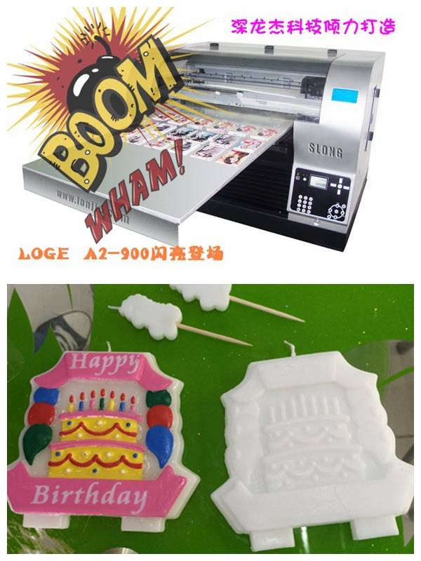 DTG printer for candle