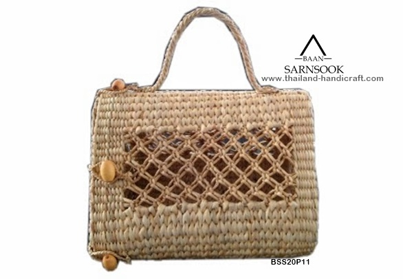 Water Hyacinth Pet Hand Bags from Thailand