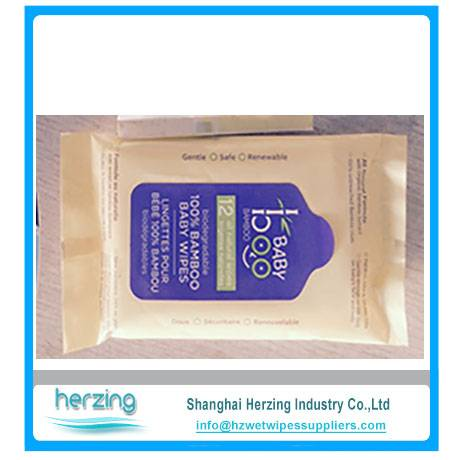 Wholesale goods from china free baby wet wipes sample