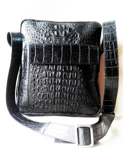 Real Crocodile Messenger Bags, Handbags, Wallets, Belts, Bags, Purses