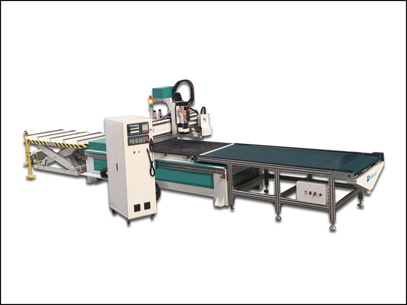 Furniture door woodworking cutting drilling cnc router machine