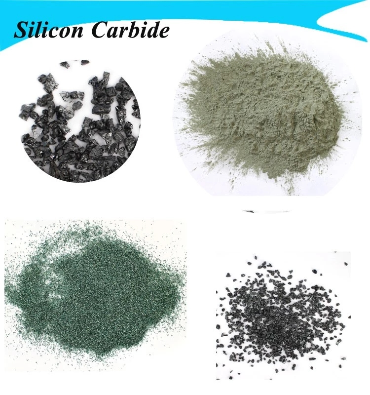 High purity 99% F80 Green Silicon Carbide used as coated and bonded wheels producing