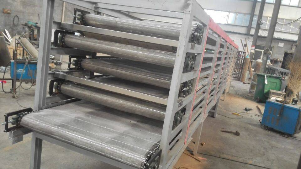 Stainless Steel Mesh Belt Multilayer Dryer for Meat, Grians and Snacks Food