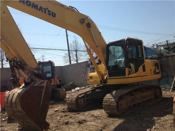 komatsu pc200-8 used excavator