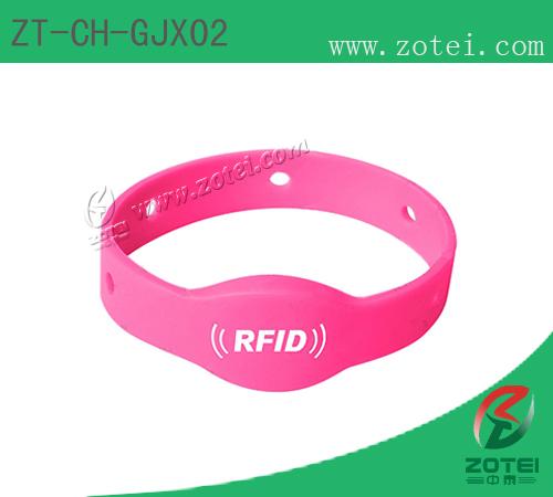 RFID silicone wristband tag(ZT-CH-GJX02)