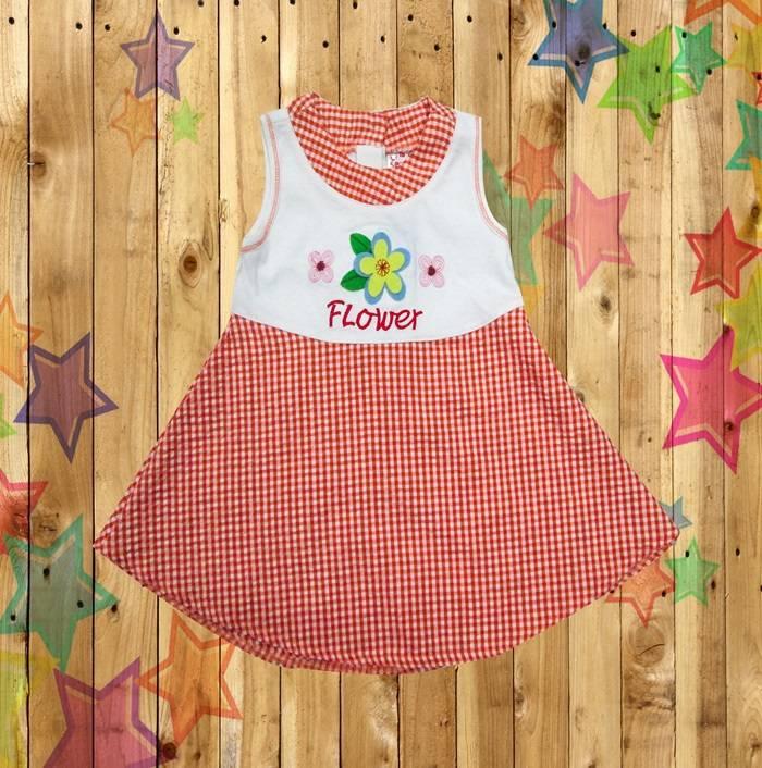 Kids baby girls children cltohes  dress Knit Cotton Garment