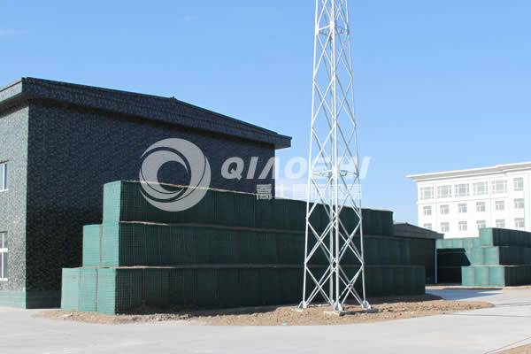 customized military defence hesco barrier Qiaoshi