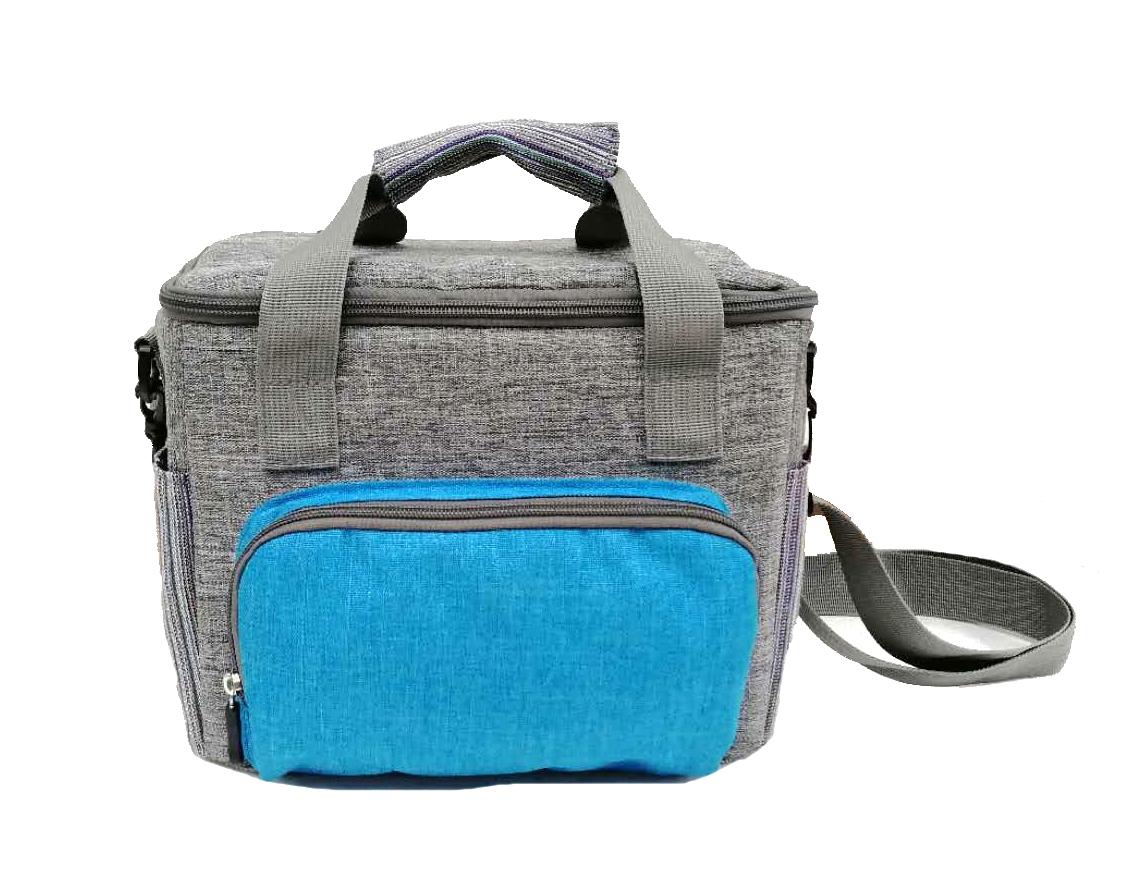 Insulated Reusable school Lunch Bag, Large Thermal Waterproof Aluminium Foil school shoulder bag