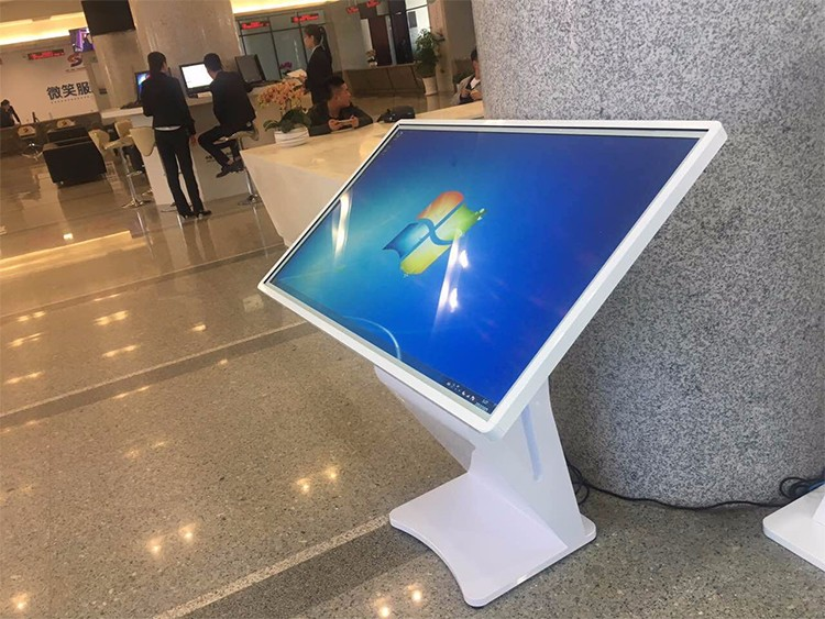 55inch interactive touch screen kiosk for meeting room