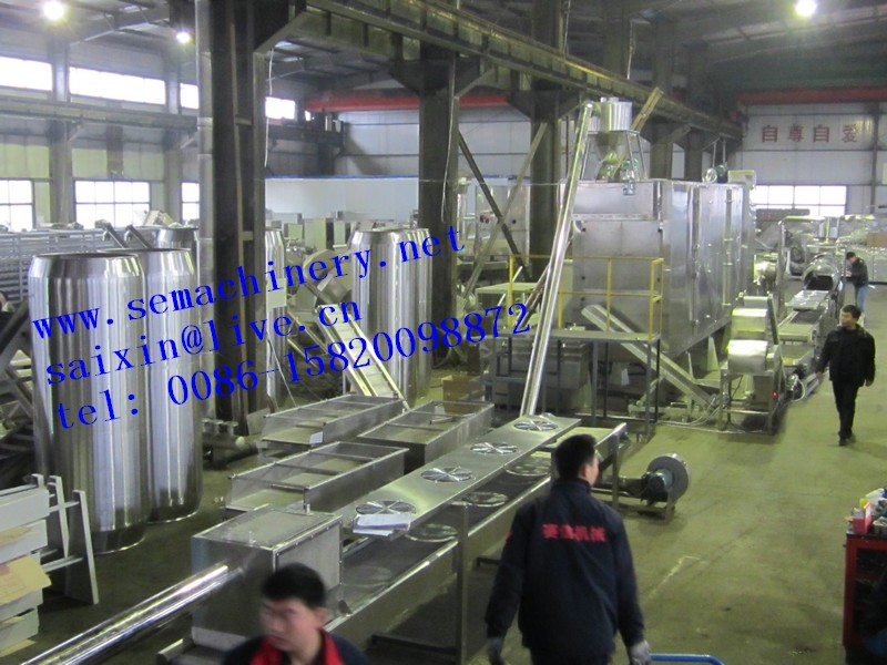 CE high quality fish bait processing line