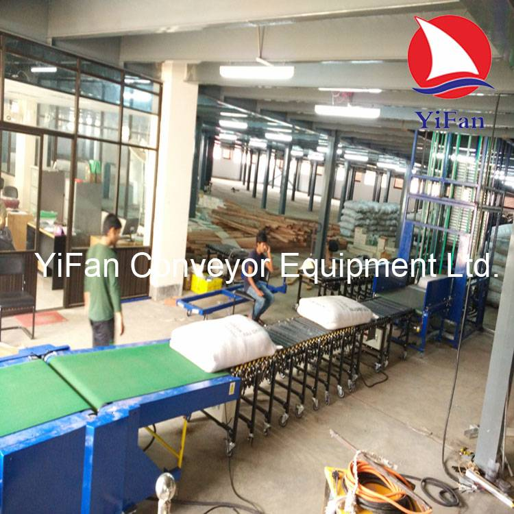 Vertical lifting conveyor