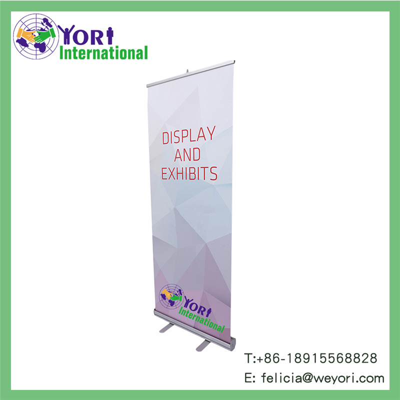 Yori rectractable roll up banner stand