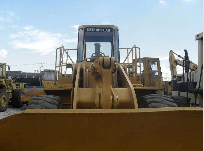Used Cat 966C wheel loader in good condition for sale