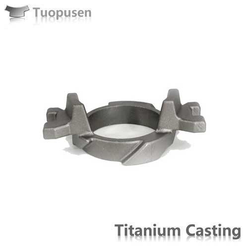 China Ti Investment Castings Titanium Cast Valves Gr2