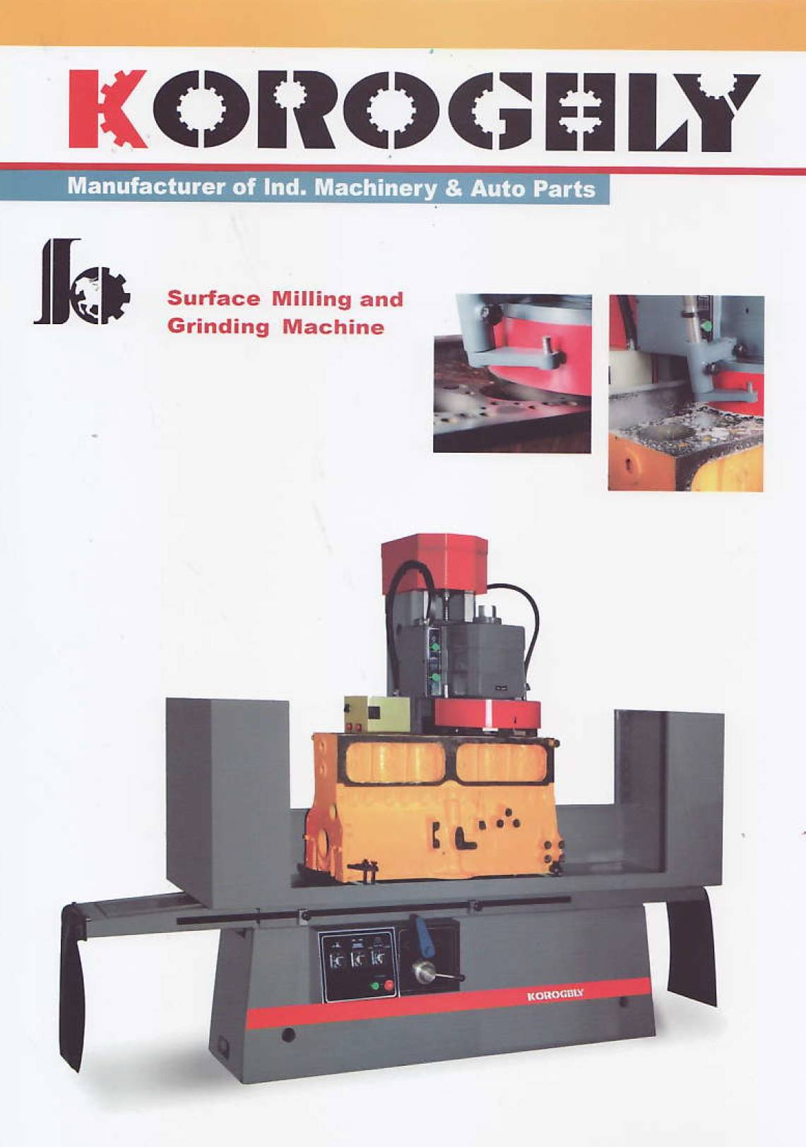 Surface Milling and Grinding Machine
