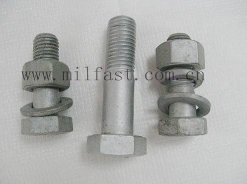 A325 Structural Bolts with Hot DIP Galvanized