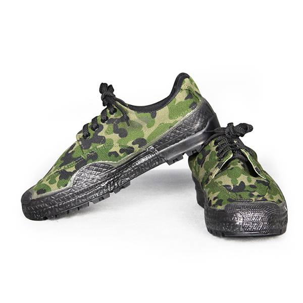 Wholesale camouflage canvas Shoes Comfortable Working Shoes Labor Shoes