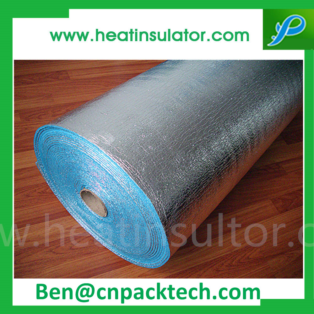 4mm Pure Aluminum Coated Tear Resistant Foam Foil Insulation