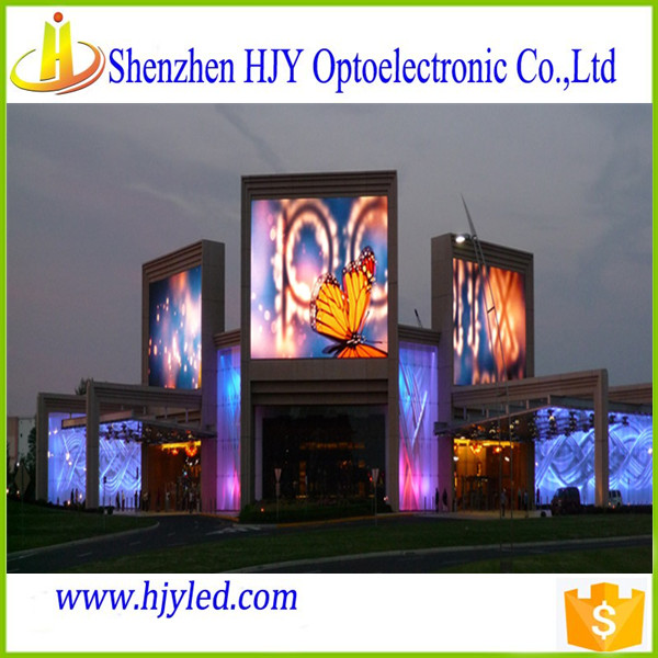outdoor p8 led screen bright full color led display