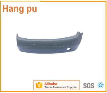 Front bumper without lining Support for For Mercedes Benz   C - Class W204 (08-09')