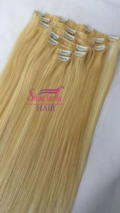 Clip In Hair Extensions-613#