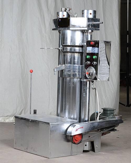 high oil output 150kg sesame hydraulic oil press machine