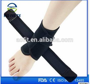 Hot Sale High Qulaity Mutilcolor Heated Tourmaline Ankle Brace