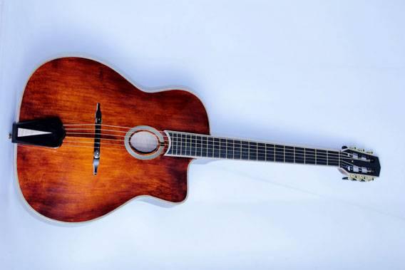 Handcraft gypsy archtop guitar
