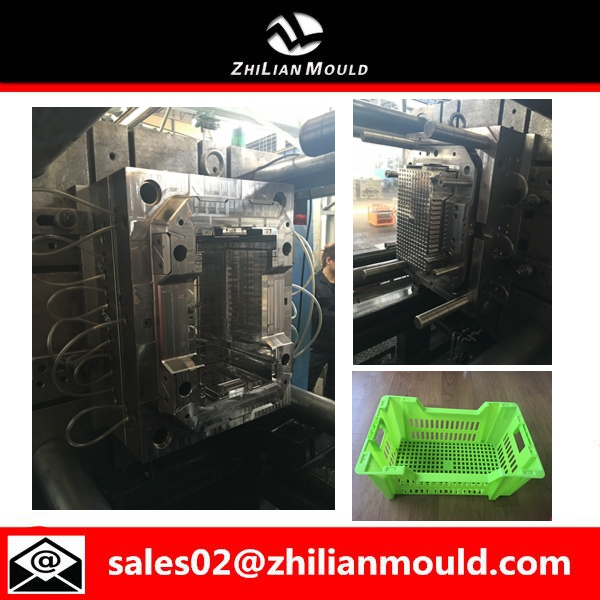 vegetable plastic crate mould
