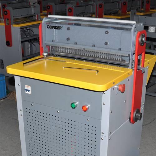 Paper Punching & Wire Closing Machine