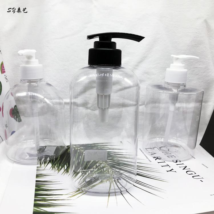 Cosmetic packaging lotion bottle hand sanitizer bottle transparent shampoo bottle