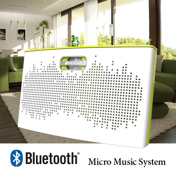 Wireless Music Streaming Bluetooth Compact Micro audio system 25 Watts