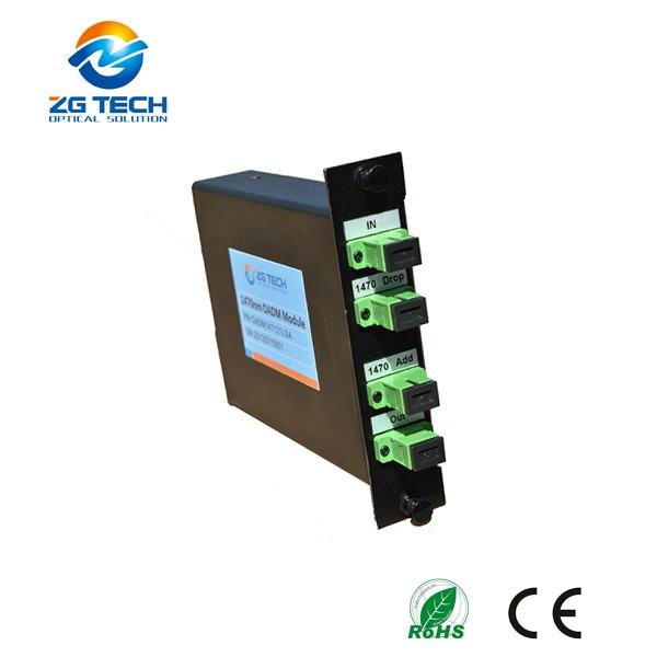 Optical Equipment LGX type 2CH MUX DEMUX CWDM Add and Drop OADM