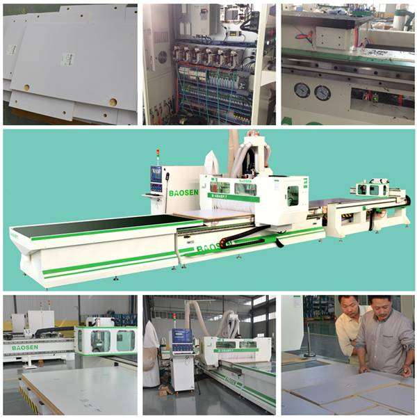cnc machine with loading and unloading