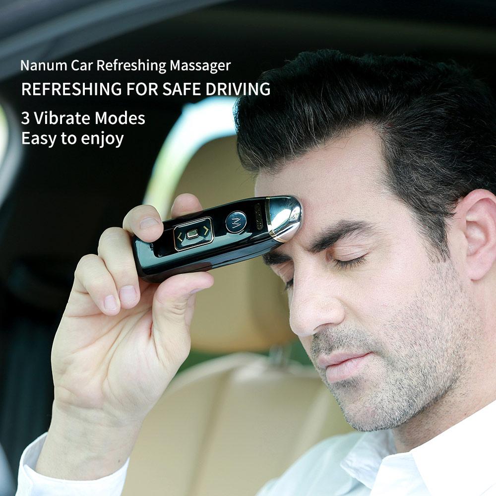 Head Massager -Car Refreshing Massager,Reduce Fatigue Driving