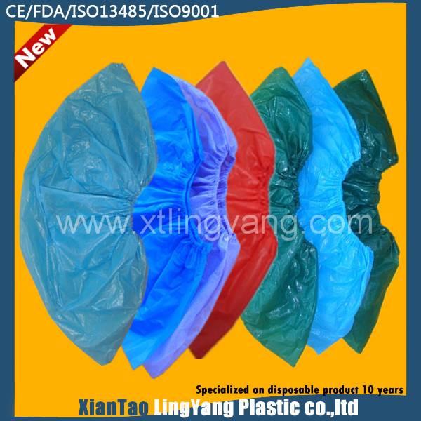 2015 Polyethylene Waterproof Plastic Overshoes