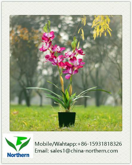 Modern Artificial Pink Orchid Arrangements