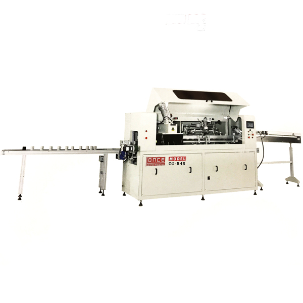 ONCE Machinery OS-R45 Automatic Air Filter or Oil Filter UV Screen Printing Machine