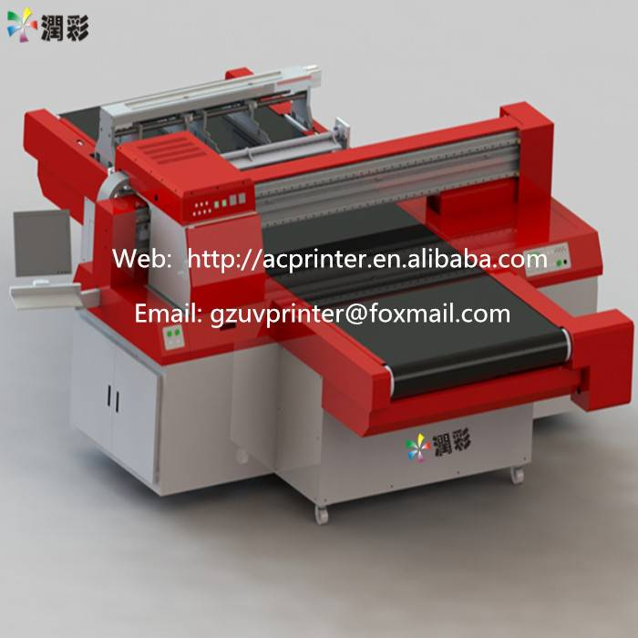 Unlimited Printing Length with High Printing Resolution UV Led Flatbed Printer