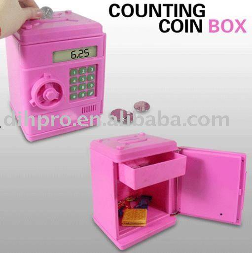 Counting coin box