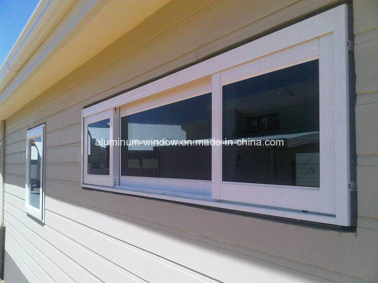 Double Glazing Aluminium/Aluminum Alloy Bathroom Sliding Windows