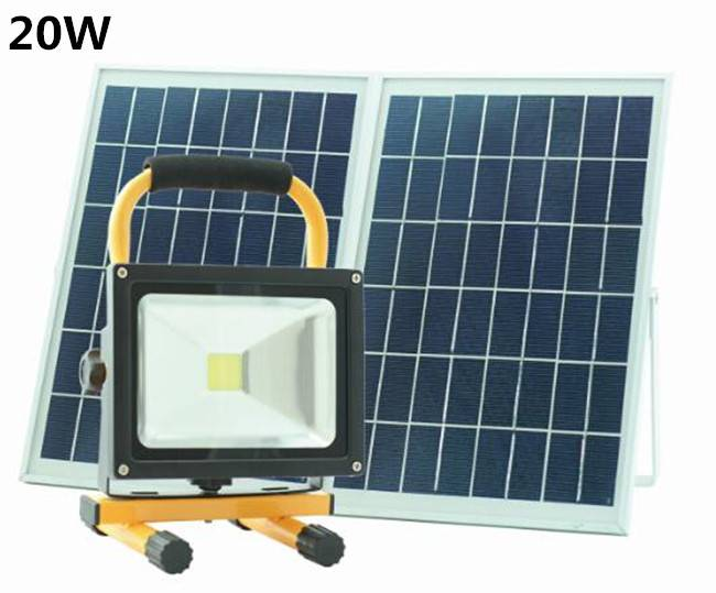 Led Solar Street Light 20W Solar Led Camping Lantern Light Lamp Solar Panel Outdoor Solar Hand Light