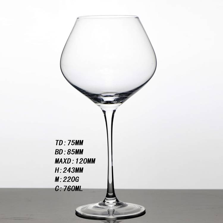 Hot Sale Wine Glass Cup Long Stick Glass Goblet Cup